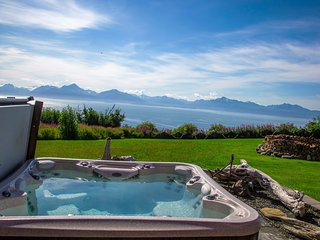 Gorgeous Home w/ Incredible Ocean & Mountain Views - Homer vacation rentals