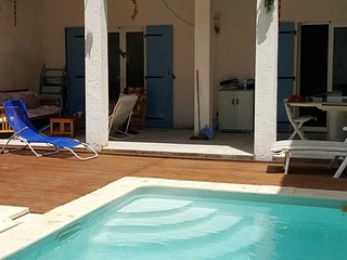 Maraussan French Villa rental with private pool near coast, sleeps 10 - Maraussan vacation rentals