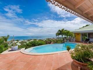 COCCINELLE... 4 master suites perfect for couples, spectacular views of Orient Beach - Orient Bay vacation rentals