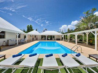 GREYSTONE...beautiful French Caribbean-style villa surrounded by lush tropical - Terres Basses vacation rentals