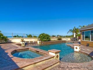 Stunning Ocean Views and Sunsets!! Walled & gated privacy. 5 Bedrooms Sleeps 10. - Encinitas vacation rentals
