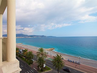 Beautiful 2BR apt on the Promenade des Anglais Terrace Sea View - Nice vacation rentals