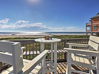 Beachfront 3BR Galveston Home w/Ocean Views! - Galveston vacation rentals