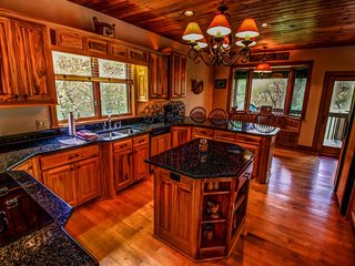 5BR Adirondack-Style Home, 3 Fireplaces, Game Room with Pool Table, view of - Banner Elk vacation rentals