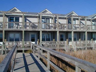 'Sea Breeze' Pet-Friendly, Oceanfront Kure Beach Townhome - Kure Beach vacation rentals