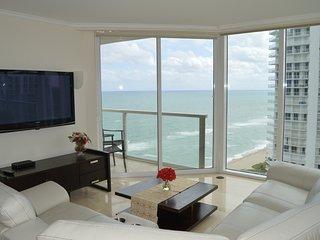 OCEAN, MODERN, LUXURY! CORNER UNIT - AMAZING VIEWS! OCEANFRONT BUILDING - WOW! - Sunny Isles Beach vacation rentals