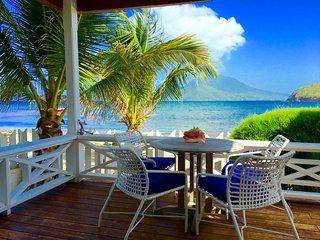 Nature and Beach Lovers Cottage right on the beach in St Kitts - Turtle Beach vacation rentals