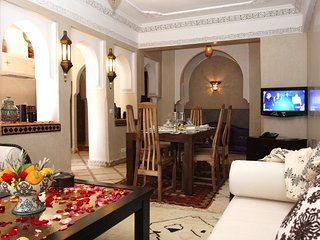 Stunning 2 bdrm Apt in the Best area of Gueliz - Wifi - Pool Access - Parking - Marrakech vacation rentals