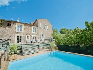 Luxury Old Winery Private Pool Huge Garden Canal Du Midi & Beaches Close by. - Canet vacation rentals