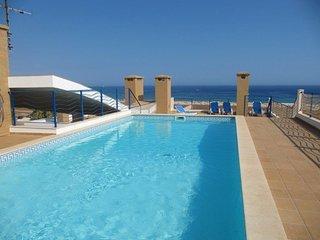 Luxury 2 bedroom apartment with stunning sea view, large roof terrace and pool - Lagos vacation rentals
