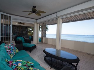 Sunset Paradise Beachfront Villas: Villa 1 Lower - Rincon vacation rentals