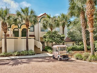 Tivoli - Beautiful 4/4 - Golf Cart Opt.  Pool/Golf Course View. - Miramar Beach vacation rentals