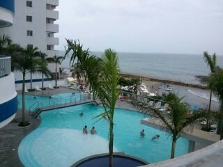Ocean Front close to everything, location, location, location like new - Cartagena vacation rentals