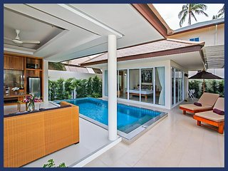 Bright Villa with Internet Access and A/C - Plai Laem vacation rentals