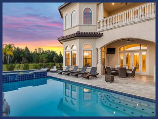 MUST SEE - 12 En-suite bedrooms - Cinema - Pool - Spa - Games and more - Reunion vacation rentals