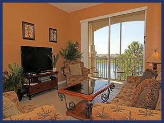Refined, plush 3 bedroom, 2 bathroom 3rd floor condo ideal for family groups in Windsor Hills - Four Corners vacation rentals
