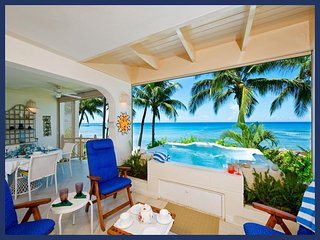 Stunning 2 Bed Villa with Private Spa, Ocean Views - Weston vacation rentals