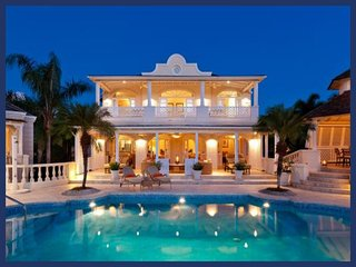 Luxury 5 Bed Villa with Pool and Gym - Saint Lucy vacation rentals