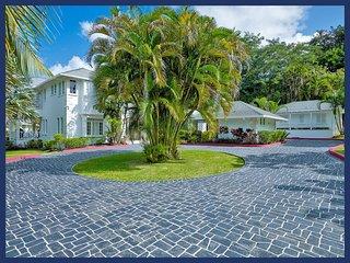 Fantastic 6 Bed Beachfront Home with Private Gym - Gibbs Bay vacation rentals