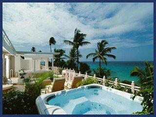 Luxury 3 Bed Beachfront Villa - Private Spa - Lascelles Hill vacation rentals