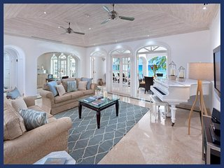 Luxury 3 Bed Beachfront Apartment - Sea Views - Paynes Bay vacation rentals