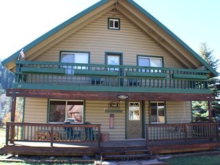 San Juan River House is right on the river in the San Juan River Village. - Pagosa Springs vacation rentals
