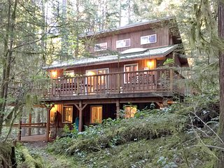 06SL Mountain View Cabin with a Hot Tub and WiFi - Glacier vacation rentals