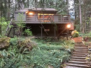 26SL Woodsy Cabin near Mt. Baker with a  Hot Tub - Glacier vacation rentals