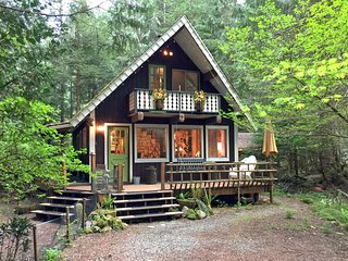 Snowline Cabin #73 - Rustic Escape for You and Fido! - Maple Falls vacation rentals