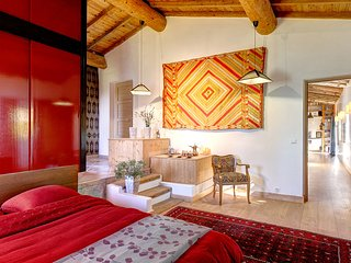 "Luxury B&B and Table d'Hôte in a 200 years old Farmhouse: The ""Orient Suite"" - Rochessauve vacation rentals"