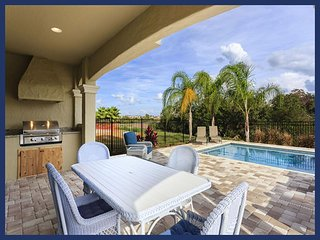 Beautiful 5 bedroom home in Reunion Resort with Swimming Pool, Summer Kitchen and Games Room - Loughman vacation rentals