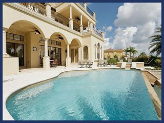 Stunning 5 bed Reunion Resort home with roof terrace, pool, spa and games room - Reunion vacation rentals