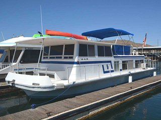 The Houseboat - 2 bedroom, 1 bath home docked - Seville vacation rentals