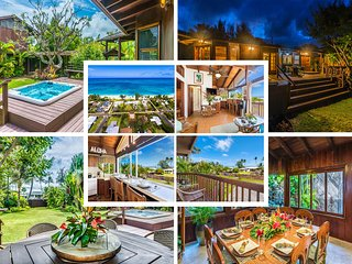 $616/NT Special May 1st~10th Ocean View Beach House & Cottage A/C Steps to Beach - Waimanalo vacation rentals