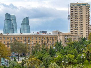 2 bedroom Condo with Internet Access in Baku - Baku vacation rentals