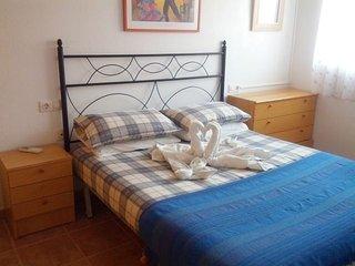 Fabulous Apartment With Air Con, Wi-Fi & Satellite TV. Close To Beach - Puerto de Mazarron vacation rentals