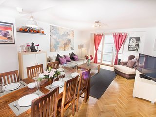Five star 3-bed room luxury apt in Central Prague - Prague vacation rentals