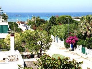 Panorama- terrace sea view - at 150 m very long beach - Brindisi airport at 20' - Specchiolla vacation rentals