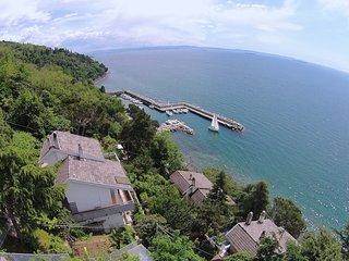 Small Villa with private beach area (& parking & garden & super view) - Santa Croce vacation rentals