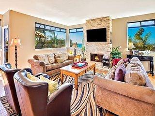 Ocean Views, Jacuzzi, Spacious Backyard, Game Room, 1 Minute Walk to Beach - Carlsbad vacation rentals
