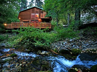 On the Stream, Large Deck, Hot Tub, Short Walk to Resort - Sundance vacation rentals