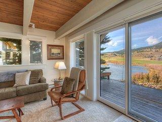 Creek Front Condo w/ Miles of Views - Huntley vacation rentals