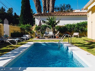 Swimming pool & Elegance!!Near the beach, famous golf courses & the airport. - Marbella vacation rentals