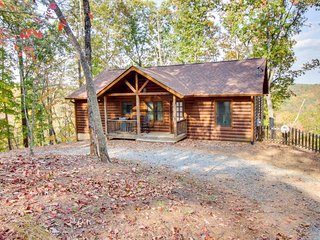 Romantic getaway with hot tub, dual fireplaces, and access to resort pool - Ellijay vacation rentals