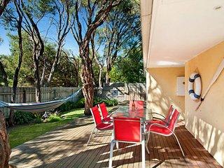 Carinya front beach house - entertaining deck - Blairgowrie vacation rentals