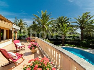 Beautiful villa with pool beachfront - Cala Bona vacation rentals