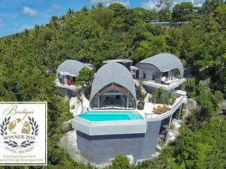 Villa Moonshadow:  Winner of International Design Award 2016 - Chaweng vacation rentals