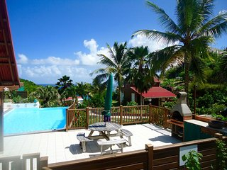 Nice Bungalow with Television and Balcony - Le Moule vacation rentals
