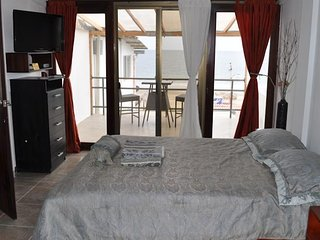Beautiful Studio directly on a safe long sandy beach - Holly Suite - Santa Marianita vacation rentals