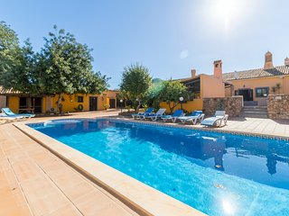 V7 Barrocal - 7 bedrrom, private heated covered pool, A/C and snooker - Espargal vacation rentals